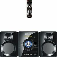 Home Stereo Mini Hifi System Bluetooth Cd Player Usb Dvd Compact Audio Sound