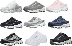 Skechers-Sport-D-039-Lites-Women-039-s-Slip-On-Mule-Clogs-Memory-Foam-Sneakers-9-Colors