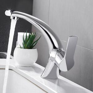 Robinet salle de bain lavabo mitigeur mono chrome vestiaire simple ...