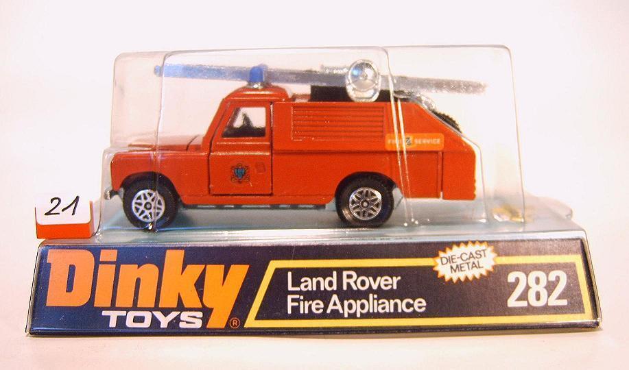 ventas en linea Dinky Dinky Dinky Juguetes 282 Land Rover Fire dispositivo en Box  021  popular