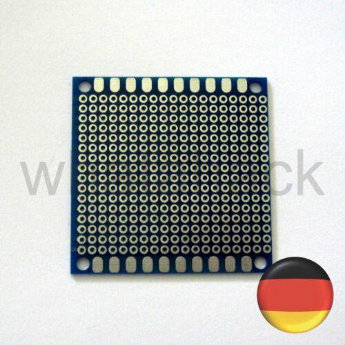 5x 50x50mm Experimentier Platinen Lochrasterplatine PCB Leiterplatten DIY LED