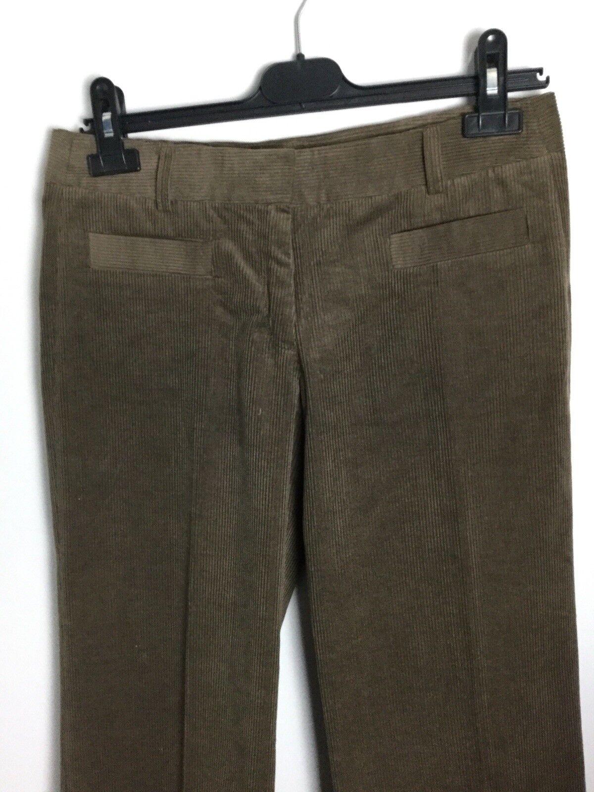 Nicole Farhi Light Brown Corduroy Pants. Size 8-10UK. Ex Condition
