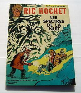 RIC-HOCHET-12-Les-spectres-de-la-nuit-TIBET-A-P-DUCHATEAU-BD-EO