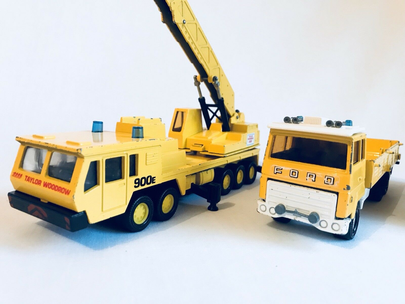 Vintage Matchbox Mobile Crane 1985 Ford H Series K21 1979 Bundle