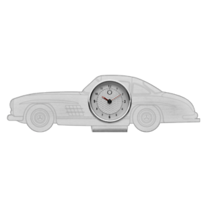 Mercedes Benz Original Horloge De Table 300 Sl Aluminium Acier