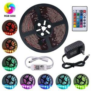 5M 150 LED Strip Light Smart WIFI Wireless Neon Light Home//Garden Kit 16 Colors