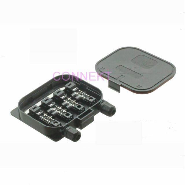 Junction Box 130mm x 120mm x 25mm solar cells panels 280W IP67 1000V