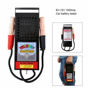 Details about Portable Mini 6/12V 100Amp Battery Load Tester Professional  Mechanic Car Truck