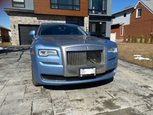 2015 Rolls-Royce Ghost - $212000  PRICE DROPPED