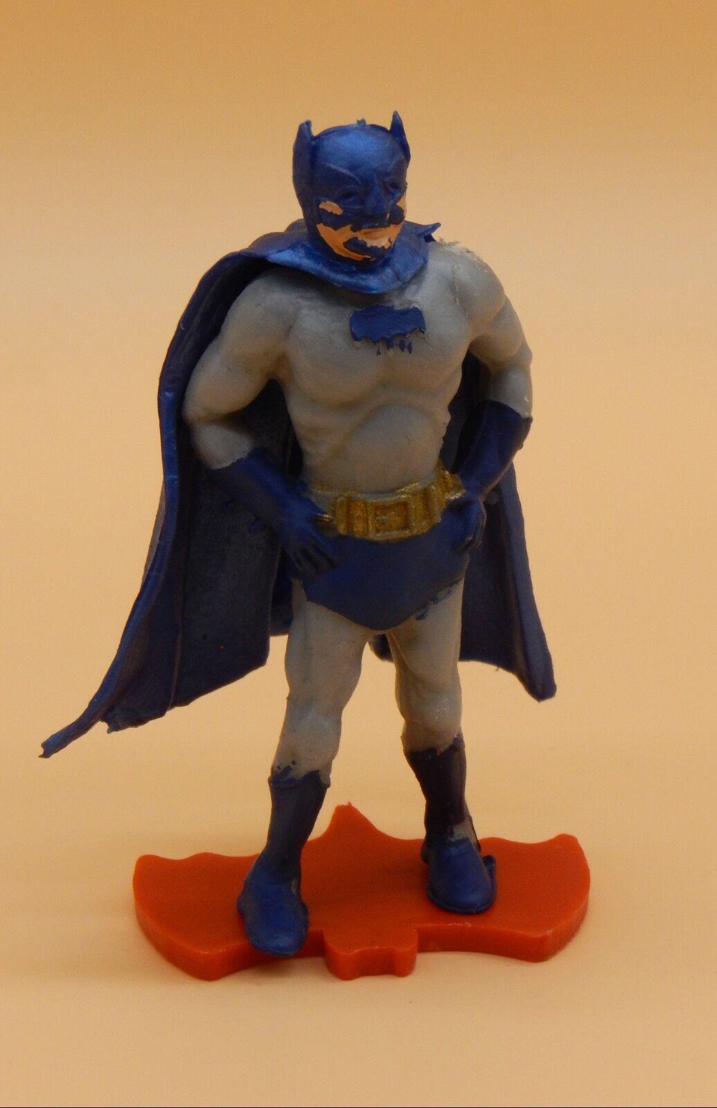 1966 vintage BATMAN Cherilea plastic figure UK only w  original stand RARE toy