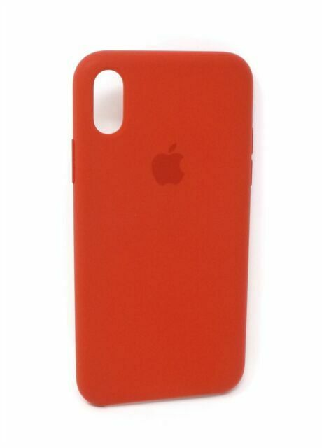 Apple iPhone X Silicone Case - Red