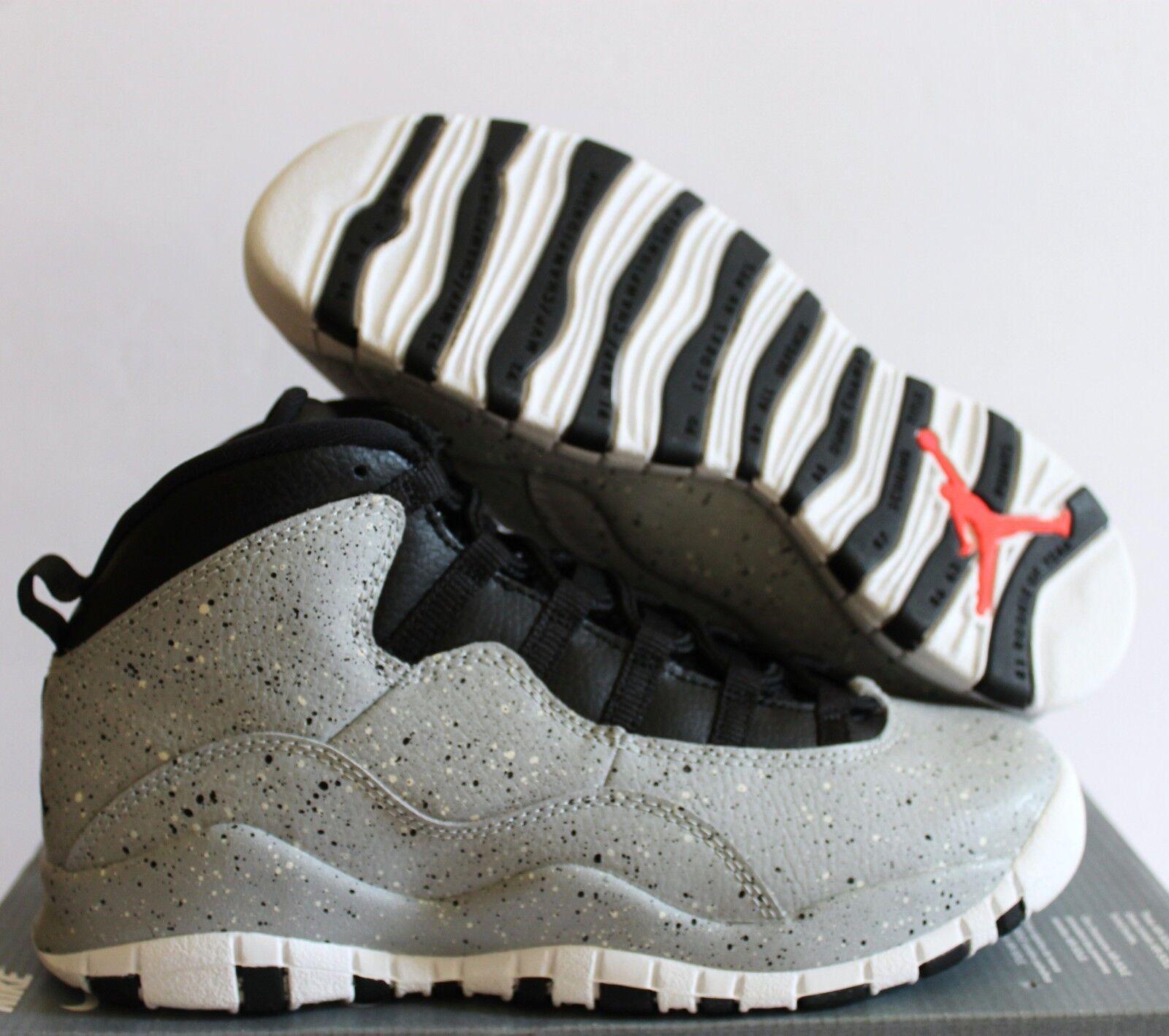 Nike Jordan 10 Retro (GS) LIGHT SMOKE grau SZ 4.5Y    WMNS SZ 6