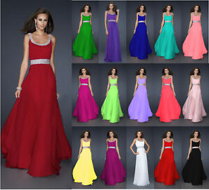 New-Formal-Long-Evening-Ball-Gown-Party-Prom-Bridesmaid-Dress-Stock-Size-6-20