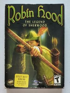 SEALED BOX Robin Hood: The Legend of Sherwood (PC, 2002) Video Game ORIGINAL