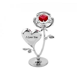Crystocraft-Rose-and-Heart-Ornament-with-Swarovski-Crystal