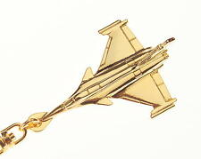 Rafale Key Ring with Gold Plated finish