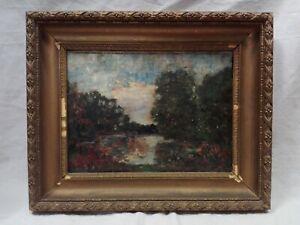 Dipinto-paesaggio-su-cartoncino-cm-25x33-Antikidea