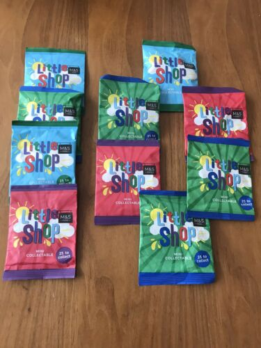 ms little shop collectables 10 Unopened Packets Marks /& Spencer