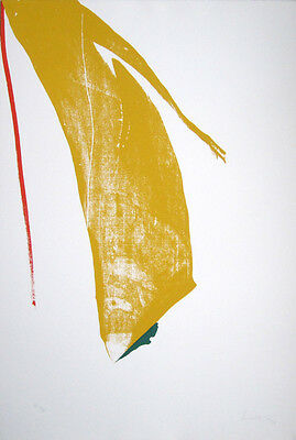 HELEN FRANKENTHALER Hand Signed 1970 Original Color Screenprint