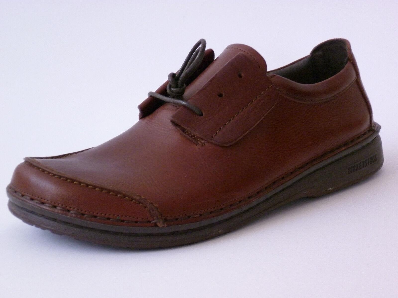 Footprints Delfi By Birkenstock Sottile 41 Marrone-Rosso pelle Sottile Birkenstock Nuovo 88f465