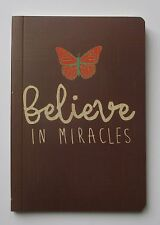 x Believe in miracles ALWAYS LOVE 80pg notebook healing journal diary poetry