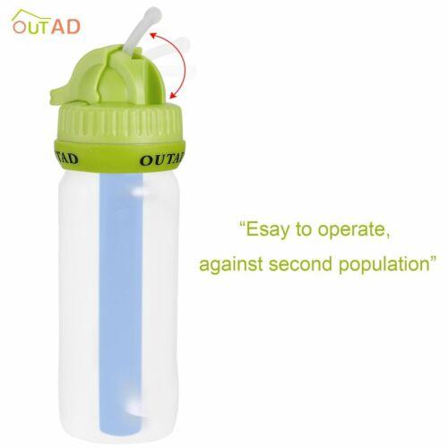 OUTAD BeFree Wasserfilter Ultralight Trinkflasche für Wandern Trekking Outdoor f