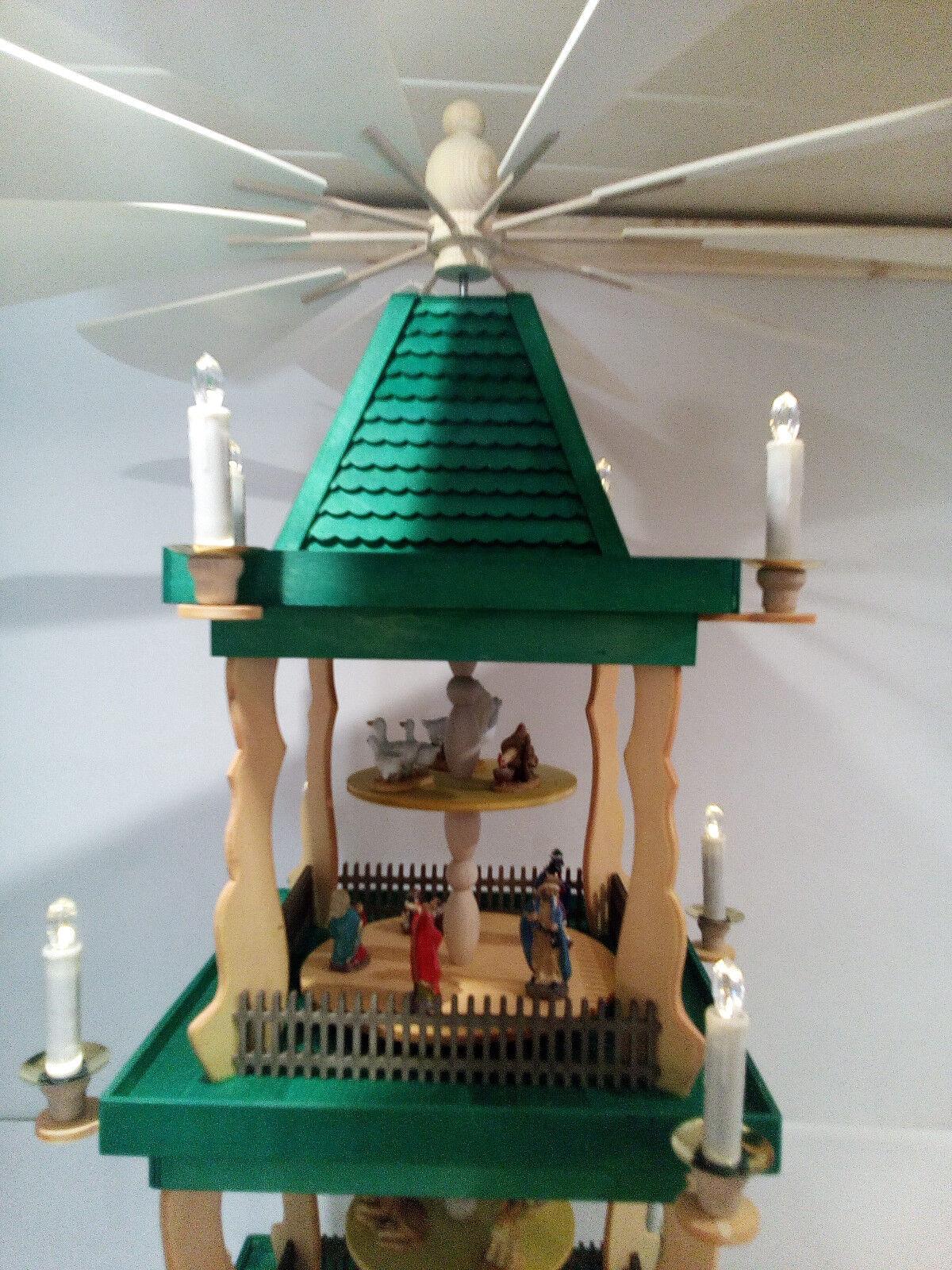 Weihnachtspyramide für Innen Innen Innen oder Außen fa7724