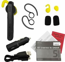 Jabra Steel Rugged Wireless Bluetooth HD Headset Water Resistant w/ Car Charger