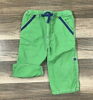 NWT 12-18M or 18-24M Mini Boden Green Cotton Shorts