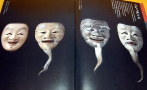 Japanese-NOH-MASK-making-and-paper-pattern-book-japan-sculpture-kabuki-0218