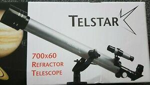 NEW Telstar Telescope 700x60 Refractor View Sky Stars Planets Scientist