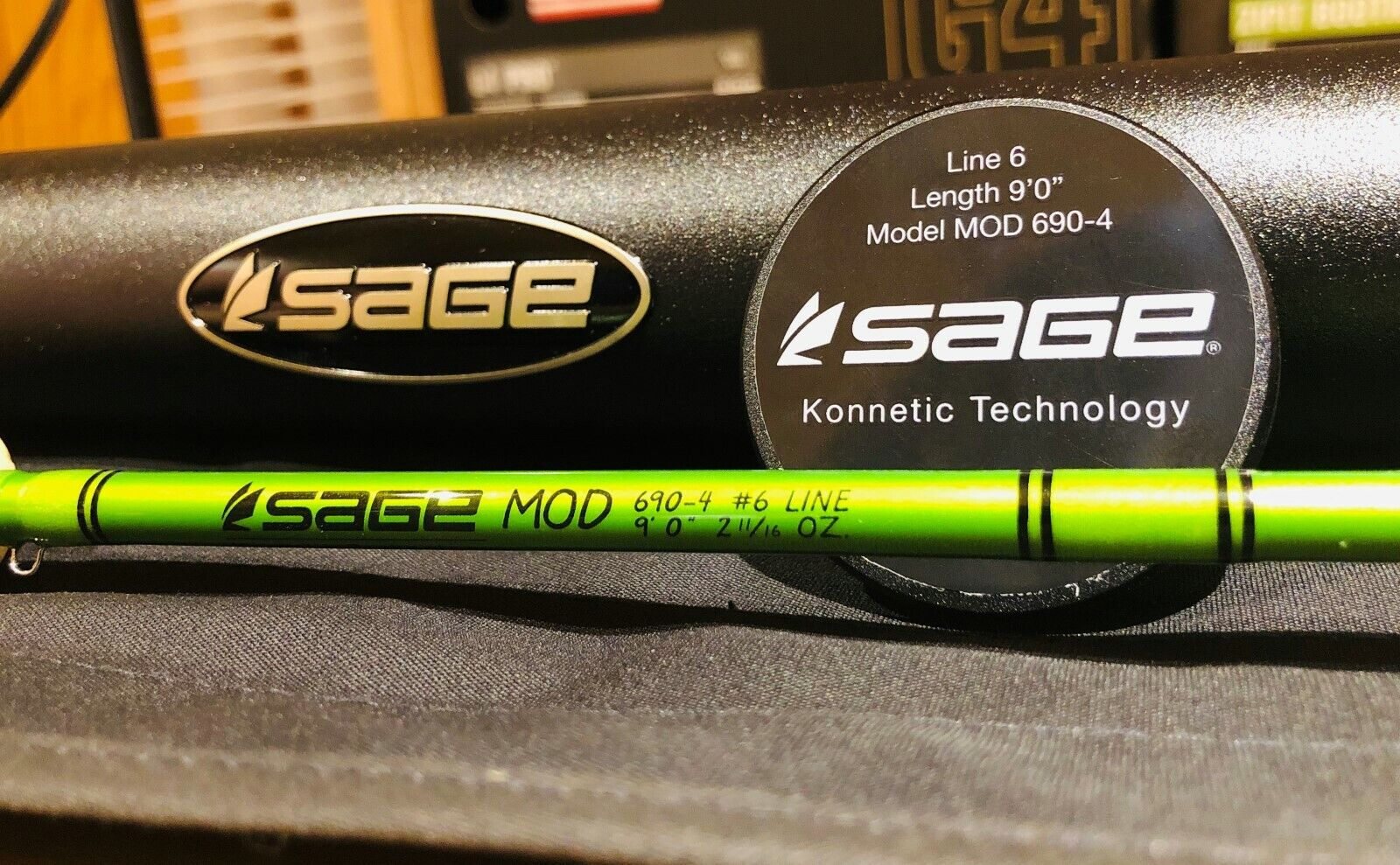 Sage Mod  690-4 Fly Fishing Rod 9 Foot 6 Weight 4 Piece NEW Unused No Reserve   best offer