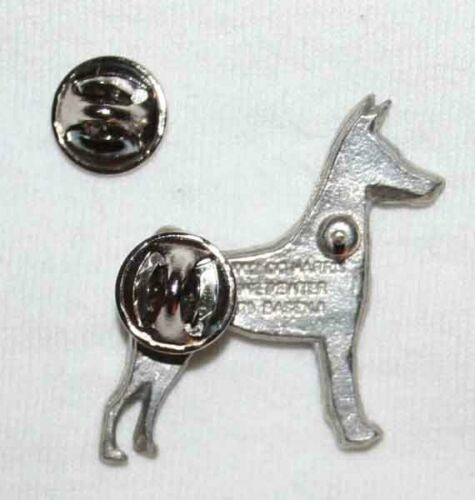 BASENJI Dog Fine PEWTER PIN Jewelry Art USA Made