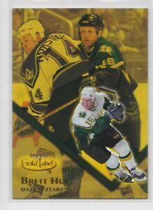 2000-01 Topps Gold Label GOLD /199 Brett Hull