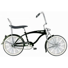 "Micargi 20"" Lowrider F4 W/ 140 spokes Bike Beach Bicycle Black (12"" frame)"