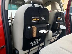 UBER-Lift Car Back Seat Organizers Multi-Pocket Automobile Seat Back Organizer