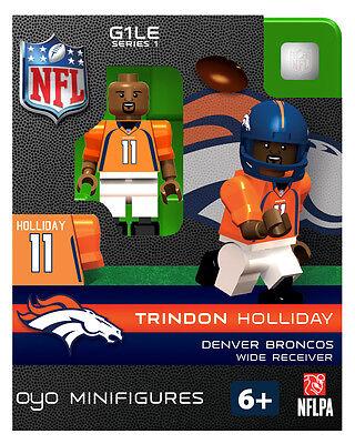 Trindon Holliday OYO Denver Broncos NFL Football Figure LEGO Compatible NEW G1