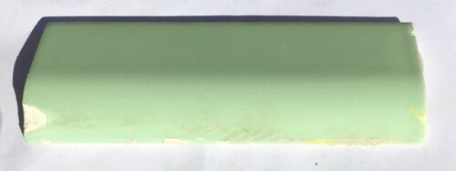 Jade Green 2x6 Vintage Ceramic Mudcap Tile Per Piece Salvaged