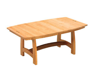 Amish Dining Room Table Trestle Mission Solid Wood ...