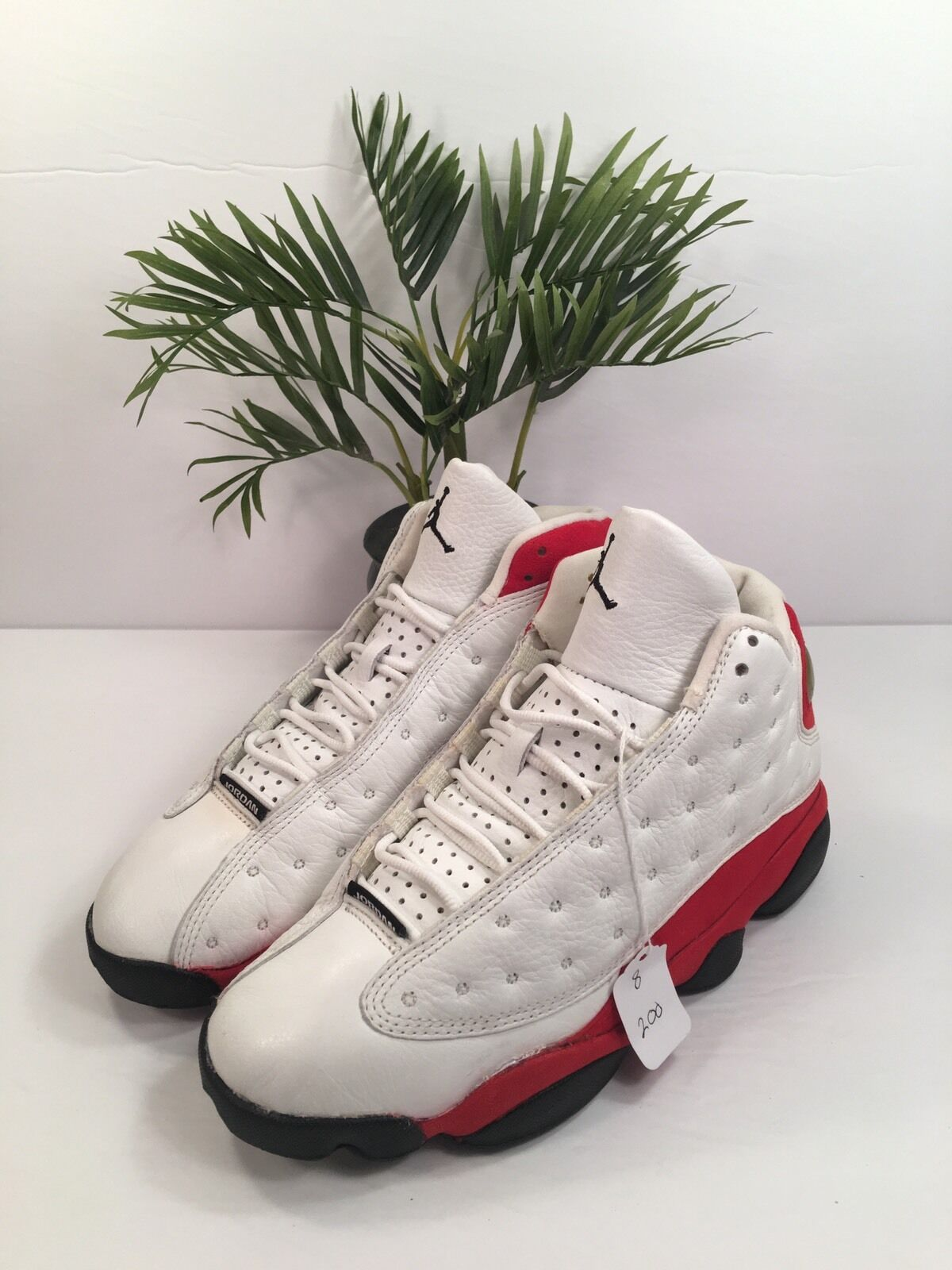 RARE Nike Air Jordan XIII OG 1997 Cherry Red White Black Sz 8 136002-101 VNTG
