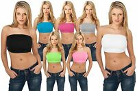 Urban Classics Ladies Bandeau Top Tb451 Tanktop Stretch Shirt Sport Bh Dessous
