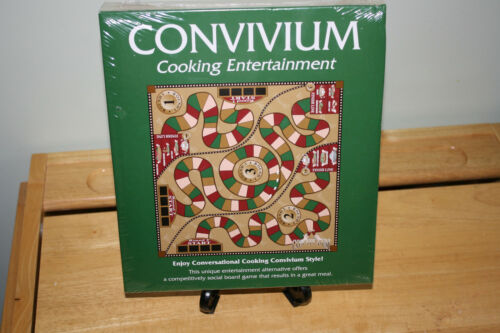 2001 NIB CONVIVIUM COOKING ENTERTAINMENT BOARD GAME