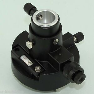 BRAND-NEW-Black-Tribrach-Adapter-CARRIER-With-Optical-Plummet-FOR-PRISM-SET