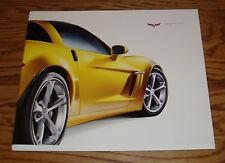 Original 2010 Chevrolet Corvette Deluxe Sales Brochure 10 Z06 ZR1 Grand Sport