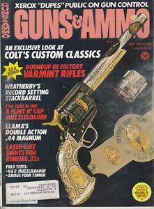 Magazine-GUNS-amp-AMMO-May-1978-HARRINGTON-amp-RICHARDSON-Springfield-Stalker-RIFLE