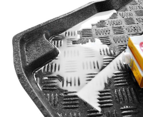 * Adaptación PVC Boot Liner Estera Bandeja Para Seat Ibiza V HB desde 2017 en la parte superior del tronco