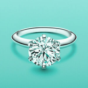 Women-039-s-Classical-2-Carat-Simulated-Diamond-Wedding-Bridal-Engagement-Ring-R165