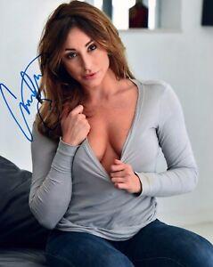 Image Is Loading Christiana Cinn Autograph Signed Photo 8x10 7 Adult