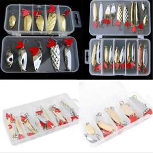 20-10PCS-Metal-Mixed-Trout-Spoon-Metal-Fishing-Lures-Spinner-Baits-Bass-Tackle