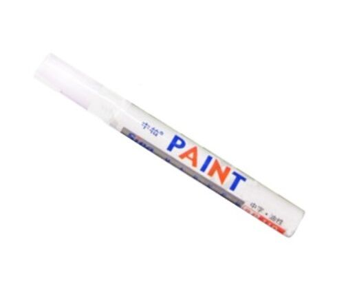 Permanent Paint Pens- Car/Bike Tyre Tire Metal Marker - Writes on Most Surfaces